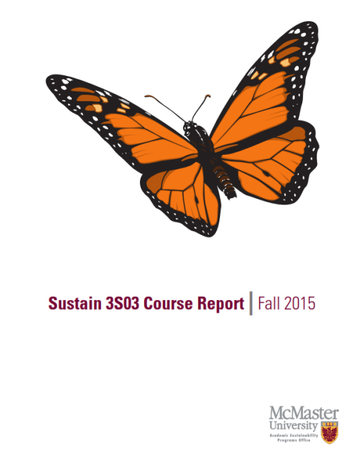 Sustain 3S03 Course Report 2015